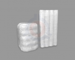 Эмалированные элементы дымоходов в защитной пленке.