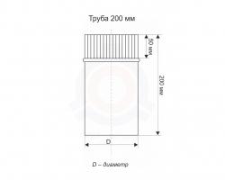Труба 200 мм